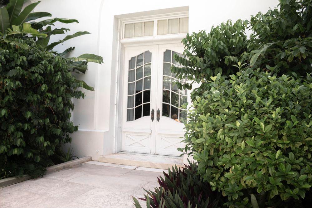 Altandörrar för smidig passage till trädgården